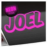 Kiwistar Joel - Adesivo per Bimbi, 25 Colori Fluo Opaco
