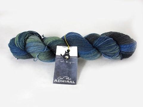 Schoppel-Wolle Admiral Cat Print, Sea Wolf