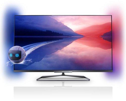 Philips 55PFL6008K/12 140 cm (55 Zoll) Fernseher (Full HD, Triple Tuner, 3D, Smart TV)