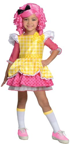 Lalaloopsy Kostüm - Rubie's Crumbs Zuckerkeks Kostüm Deluxe für Mädchen Lalaloopsy