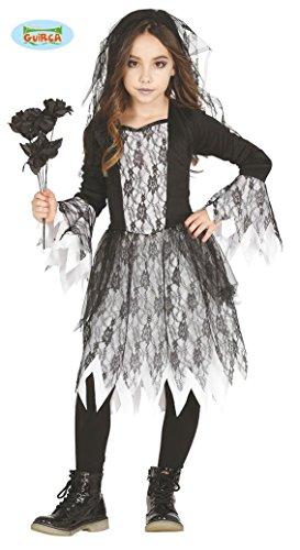 Geister Mädchen Kostüm für Kinder Gr. 98 - 146, Größe:128/134 (Gruselige Kostüme Für Mädchen)