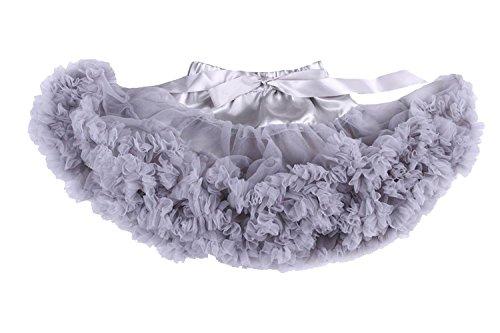s Einfarbig Petticoat Tanz Tutu Kostüme Rock Grau X-Small (Romeo Und Julia Romeo Kostüm)