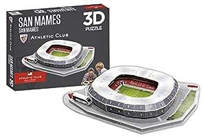 Athletic Club Bilbao Puzzle Estadio 3D San Mamés (Athletic Club) (81014), Multicolor (Eleven Force 1)