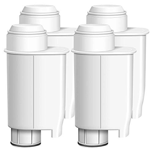Waterdrop TÜV SÜD zertifizierter Wasserfilter, kompatibel mit Brita Intenza+ Philips Saeco CA6706/48 CA6702/00 Gaggia Mavea Intenza RI9113/60 (4 Stücke)