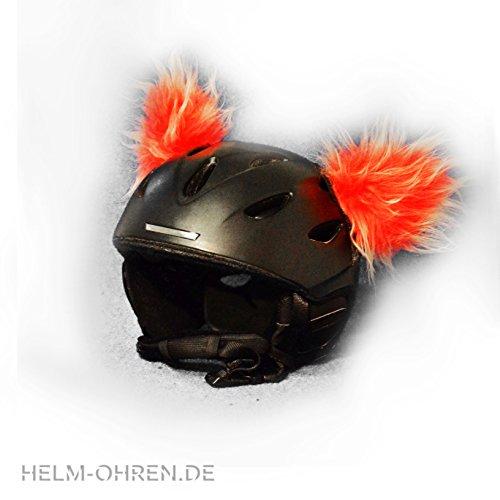 Helm-Ohren für den Skihelm, Snowboardhelm, Kinder-helm, Kinder-Skihelm, Motorradhelm oder Fahrradhelm - verwandelt den Helm in ein EINZELSTÜCK - der HINGUCKER - für...