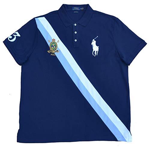 Ralph Lauren Poloshirt Big Pony Polo Blau French Navy Größe M