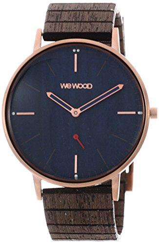 WEWOOD Herren Analog Quarz Smart Watch Armbanduhr mit Holz Armband WW63003 (Uhr Wewood)