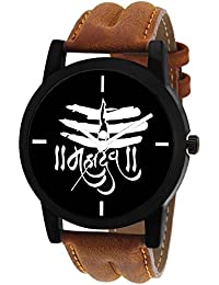 Scarter Mahadev Black Dial Analog Watch For Boys And Men-MH-Black-11