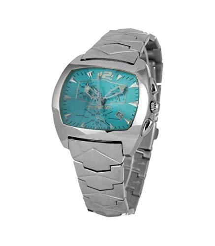 Chronotech orologio analogico quarzo uomo con cinturino in acciaio inox ct2185l-01m