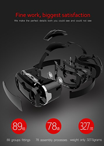MEMORE VR Shinecon 3D Virtual Reality Google Cardboard Glasses Headset