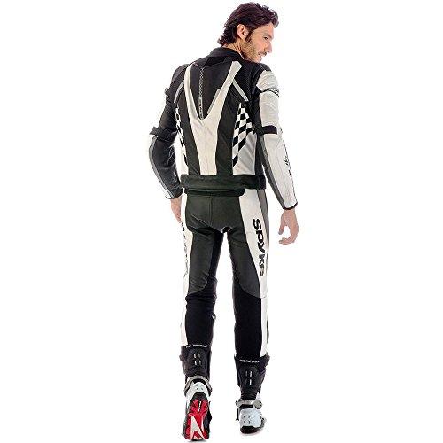 Spyke - Costume - Homme blanc/noir