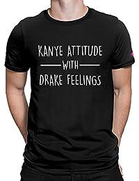 Graphic Printed T-Shirt For Men & Women | Funny Quote T-Shirt | Kanye T-Shirt | Drake T-Shirt | Half Sleeve T-Shirt...