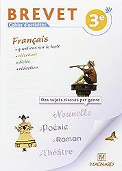 Français Brevet 3e : Cahier d'activités
