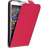 mumbi Flip Case für Samsung Galaxy S5 / S5 Neo Tasche pink