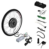 Kitechildhrrd 48V 1000W E-Bike Motor Hub Elektrofahrrader e Bike Umbausatz Electric Bicycle Conversion Kits 26