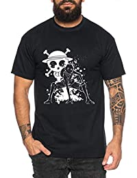 Ruffy Angry Zorro Gear One Manga Herren 2 Ruffy T-Shirt Anime Piece fae7642a44
