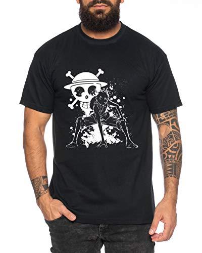 Ruffy Angry Gear Zoro One Manga Camiseta 2 Luffy Hombre