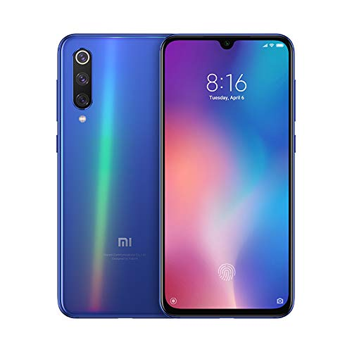 Xiaomi MI 9 SE Smartphone, 64GB, Display FHD+ da 5.97'', Qualcomm Snapdragon 712, Fotocamera da 48 MP, Risoluzione Ultra High, Blu(Ocean Blue) [Versione Italiana]
