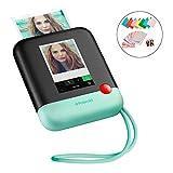 """Polaroid POP 2.0 - Fotocamera digitale a stampa istantanea, con display touchscreen da 3,97"""", Wi-Fi integrato, video HD da 1080p, tecnologia zero inchiostro Zink e nuova app, verde"""