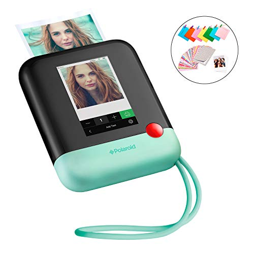polaroid pop 2.0 - fotocamera digitale a stampa istantanea, con display touchscreen da 3,97, wi-fi integrato, video hd da 1080p, tecnologia zero inchiostro zink e nuova app, verde