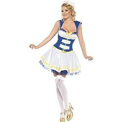 Smiffy's Disfraz de marinero para mujer, talla XS (26201XS)