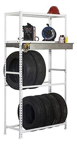 Simonrack Zur Einlagerung von bis zu 8 Reifen