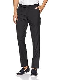 US Polo Association Men's Straight Fit Formal Trousers - B078D75JL9
