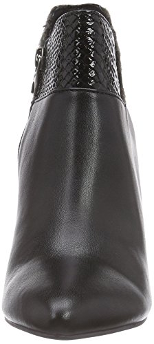 s.Oliver2537 - Stivaletti a gamba corta mod. Classics, senza imbottitura donna Nero (Schwarz (Black Comb. 098))