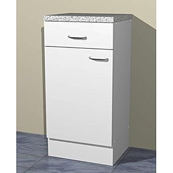 k chen unterschrank 40 cm weiss witus k che haushalt. Black Bedroom Furniture Sets. Home Design Ideas