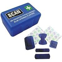 Scan FAPLACAT Hydroskopisches Pflaster-Sortiment, Blau, 100Stück preisvergleich bei billige-tabletten.eu