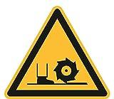 Warnzeichen Aufkleber