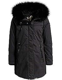 33ba6af604bd Suchergebnis auf Amazon.de für  khujo mantel - Grau   Damen  Bekleidung