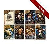 Footprints of God - 8 DVD Series Moses, David/solomon, Jesus, Peter, Paul, Apostolic Fathers, Mary, Holy Ground