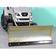 Rally 11-12-13 verzinktes Komfort-Schneeschild 118x50 cm für Rasentraktore ID 2234