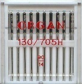 Organ - Aguja para Máquina de Coser Doméstica