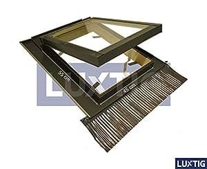 Lucernario per tetto finestra mansarda skylight legno for Lucernario mansarda