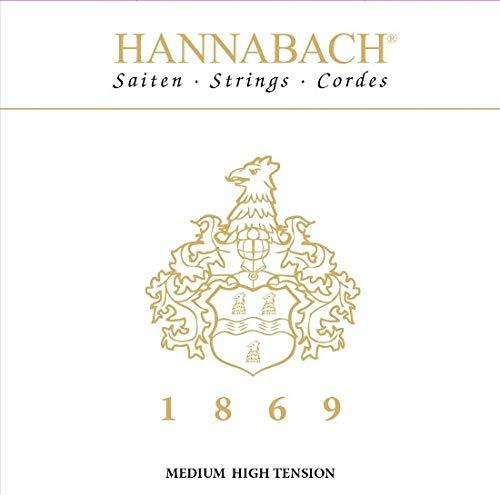 Hannabach 1869MHT - Jubiläums-Saite - Carbon/Gold
