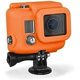 XSories Housse en silicone pour Caméra GoPro HD HERO3 Orange