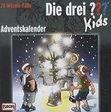 Kosmos 42001 CD Die drei ??? Kids - Adventskalender (2 Audio-CDs)