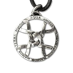 Anhänger Amulett Vier Elemente aus Silber etNox 5902