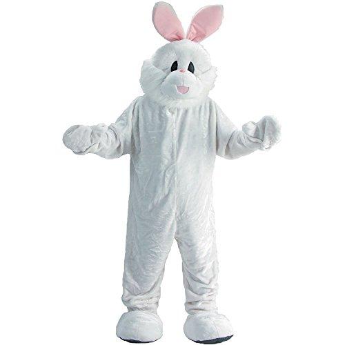 Kostüm Osterhasen - Dress Up America Erwachsene Osterhase Maskottchen Kostüm