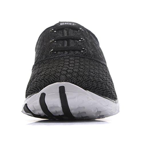 Kenswalk , Damen Aqua Schuhe Schwarz / Weiß
