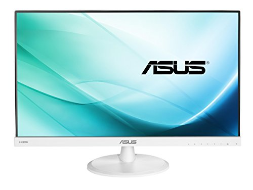 ASUS VC239H-W 23-inch Monitor, FHD (1920 x 1080), IPS, Frameless, Flicker Free, Low Blue Light, TUV Certified - White