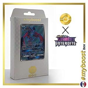 Yveltal-GX 124/131 Full Art - #myboost X Soleil & Lune 6 Lumière Interdite - Box de 10 Cartas Pokémon Francés