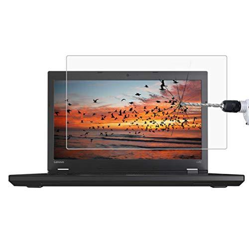 XCVXIAOQIGNG Bildschirmschutzfolien 0.4mm 9H Oberflächenhärte Full Screen Tempered Glass Film for Lenovo ThinkPad L570 15.6 Zoll Gehärteter Film