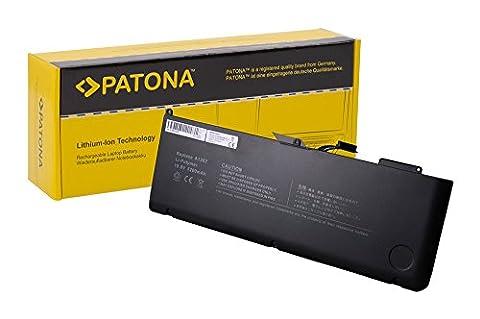 PATONA Premium Laptop Akku für Apple Apple   Macbook Pro 15.4 Zoll 2.0GHz Core i7 (A1286) - Early 2011 MC721LL/A   15.4 Zoll 2.2GHz Core i7 (A1286) - Early 2011 MC723LL/A   15.4 Zoll 2.2GHz Core i7 (A1286) - Late 2011 MD318LL/A   15.4 Zoll 2.3GHz Core i7 (A1286) - Early 2011 MC723LL/A   15.4 Zoll 2.3GHz Core i7 (A1286) - Mid 2012 MD103LL/A   15.4 Zoll 2.4GHz Core i7 (A1286) - Late 2011 MD322LL/A   15.4 Zoll 2.5GHz Core i7 (A1286) - Late 2011 MD322LL/A - [ Li-ion; 5200mAh;schwarz]