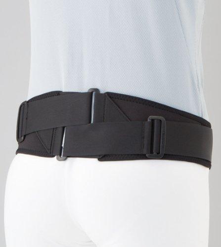 Rückenbandage / Rückenstützgurt Double Gear Belt, Größe M-L, Schwarz, volle Beweglichkeit bei optimaler Druckkompression