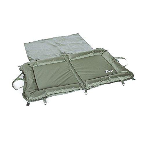 Lucx® Abhakmatte XL / Unhooking Matt / Carp Bag / Karpfen Matte, inklusive Knieschutz