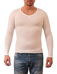 SODACODA hommes minceur ventre Shaper Vest - Elastic Body Sculpting Compression Shirt (S-XL)