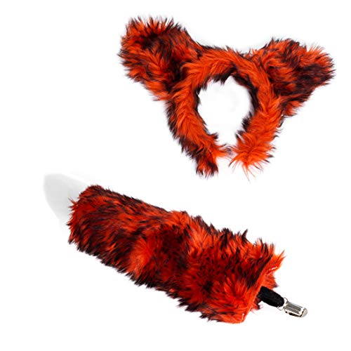 Costume Props Official Website Fox Tail Anime Cosplay Unisex Halloween Family Cos Props Couples Life Flirting Tail Anal Plug Convenient To Cook Costumes & Accessories